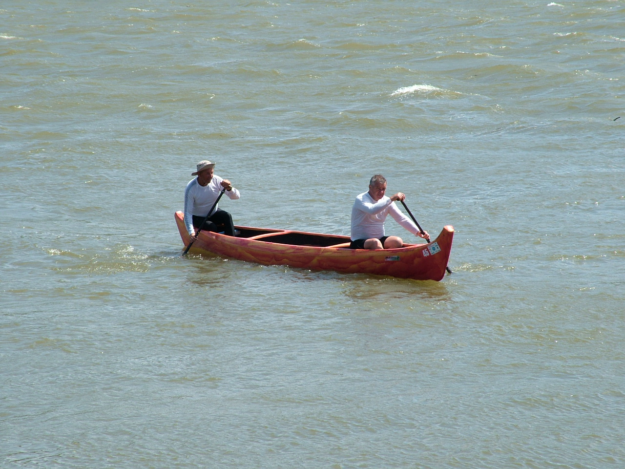 Caribbean Indian canoe for 2-3 persons